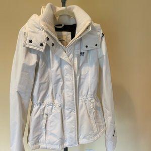 Abercrombie Women's Large White Coat